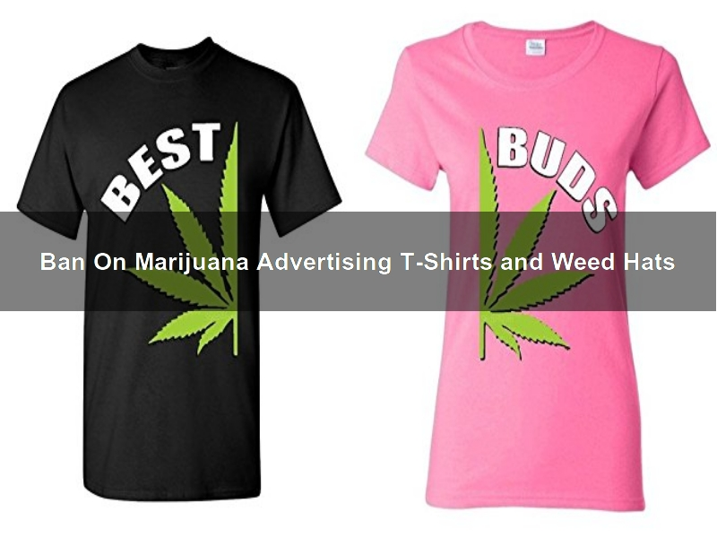 Santa Monica May Ban On Marijuana Advertising T-Shirts and Weed Hats