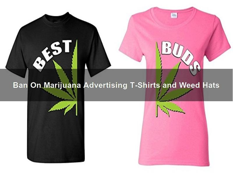 Santa Monica May Ban On Marijuana Advertising T-Shirts and Weed Hats